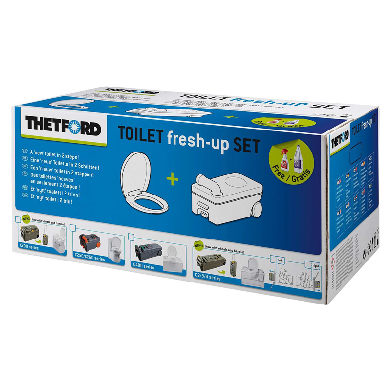 Thetford Fresh-Up Set - C2/C3/C4 - levá
