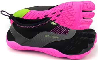 Boty do vody BODYGLOVE 3T Cinch black neon pink