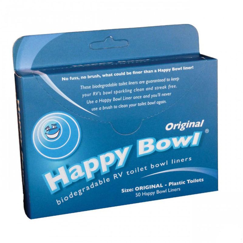 Ochranná vložka do WC Happy Bowl